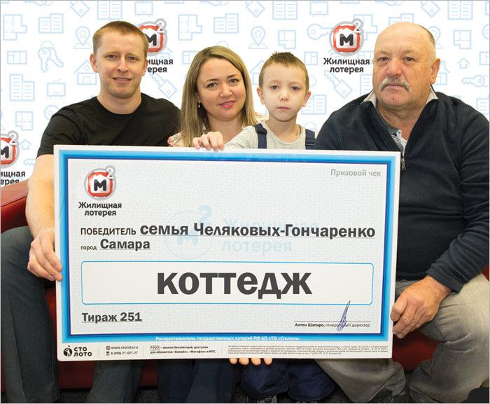 Победители жилищной лотереи
