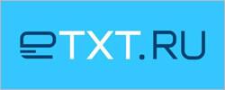 Логотип биржи копирайтинга etxt