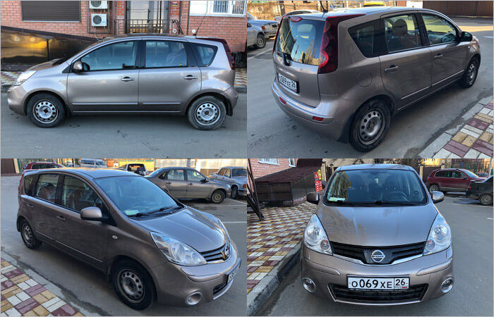 Фото Nissan Note 2013