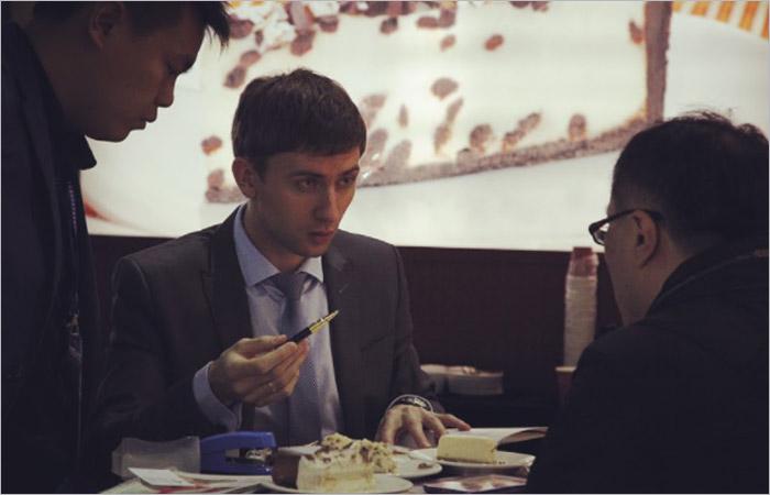 Дегустация товара в Китае